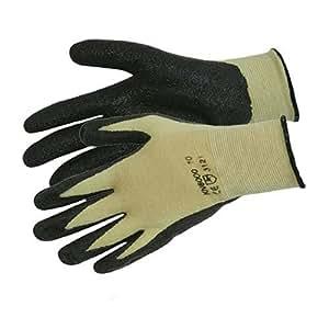 Silverline 598485 Gants polyester-coton-kevlar enduction nitrile Taille Unique