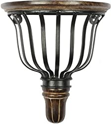 Rajveer Wooden Amp Iron Set Of Box Stand