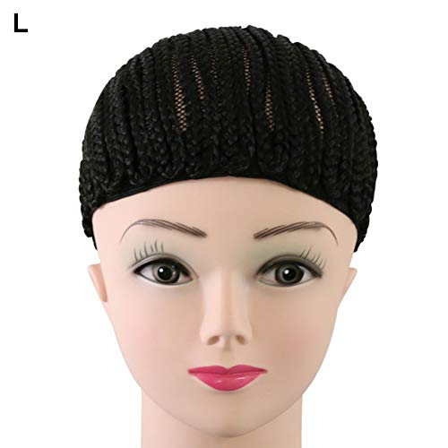 Constructive Black Color 1pc Fast Shipping Hairnets Medium Size Wig Cap Making Weaving Wigs With Adjustable Strap On The Back Hair Extensions & Wigs Hairnets