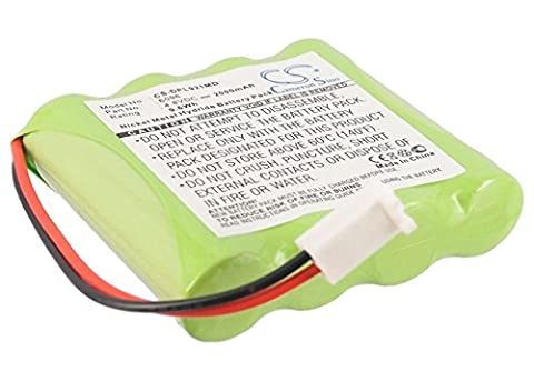 Medical 9.6Wh battery Ni-MH 2000mAh 4.8V suitable for Delphi