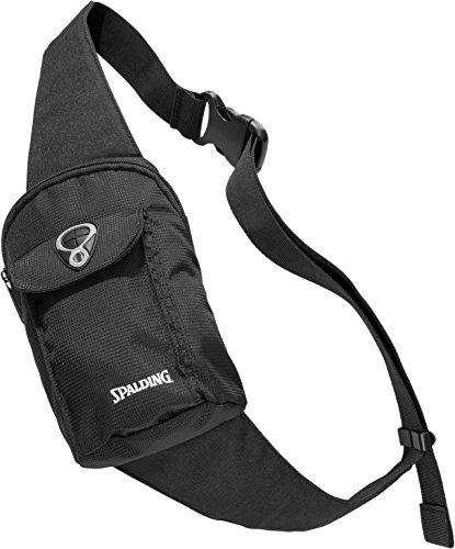 Spalding Unisex-Erwachsene 300452401 Umhängetasche, Schwarz (Negro), 15x24x45 centimeters (W x H x L) - Brusttasche