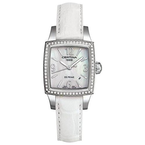 CERTINA Women's DS Prime 27MM Leather Band Quartz Watch C004.310.16.117.03