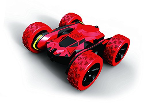 Top Race Remote Control Red Atom Max Fancy 360 Flip RC Cars Off Road Series Stunt Car 2.4GHz Transmitter (TR-UK01)