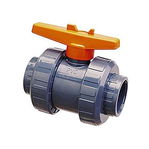 Aquaforte PVC Ball Valve with Double Throw Blue Barrel 25 mm