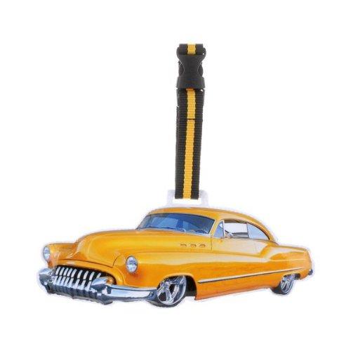 Etiquette à bagage Yellow cab