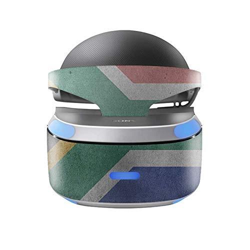 Skins4u Aufkleber Design Schutzfolie Vinyl Skin kompatibel mit Sony PS4 Playstation 4 VR Brille Südafrika