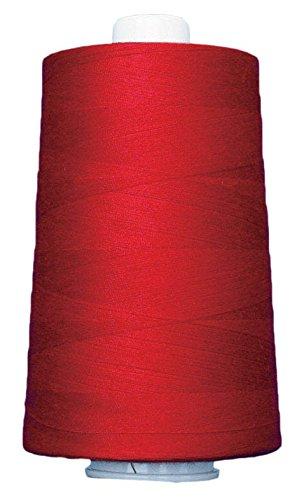 Superior Fäden 13402–3158qc Omni 40W Polyester Gewinde, 6000YD, Neon Rot (Omni-thread)