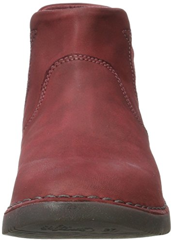 Softinos - Tep413sof Washed, Stivali Chelsea Donna Rosso (Scarlet)
