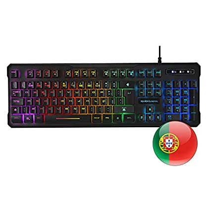 Mars Gaming MK218 - Teclado H-Mechanical Red co...
