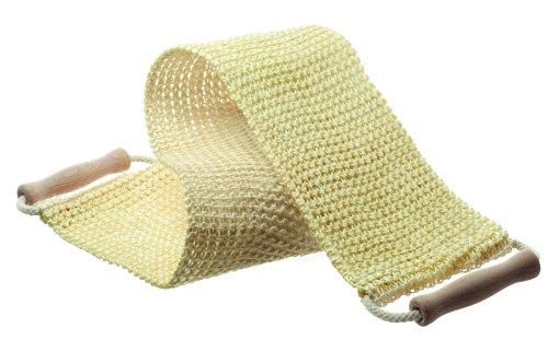 Hydrea London Lanière de gommage en sisal pour le dos