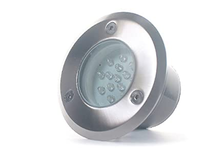 10x LED Boden Einbau Strahler Spot Tierra 2 IP66 1W Kaltweiß trendlights24 Hausmarke