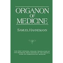 Organon of Medicine by Samuel Hahnemann (1993-09-01)