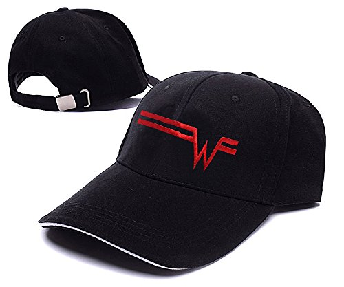 sianda-weezer-band-logo-hat-embroidery-baseball-cap
