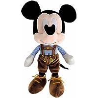 Disney Bayerischer Mickey Maus in Lederhosen, 25cm, aus weichem Plüsch