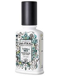 Poo-Pourri Before-You-Go Toilet Spray 4-Ounce Bottle, Vanilla Mint Scent