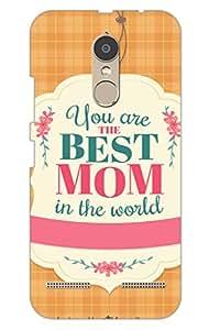 AMAN Best Mom 3D Back Cover for Lenovo K6