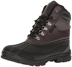 Fila Mens Weathertech Extreme Walking Shoe, Espresso/Black/Dark Silver, 13 M US