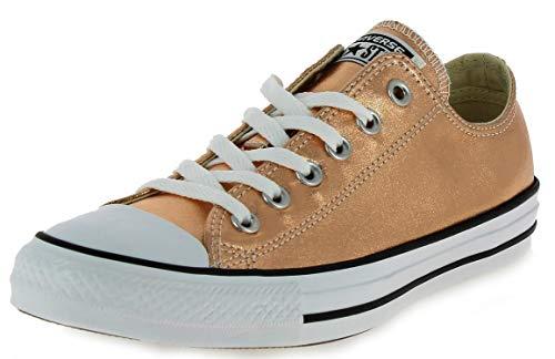 Converse Unisex-Erwachsene Low-top, METALLIC PINK, 41.5 EU (Pink Converse Hi-top)