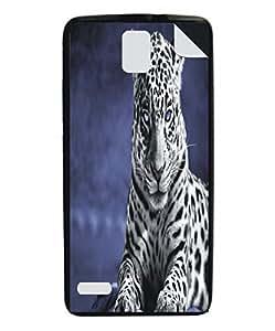 Techno Gadgets Back Cover sticker for Xolo Q1010i