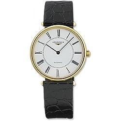 Longines La Grande Classique Automatic 18kt Gold Mens Watch White Dial L4.738.6.11.2
