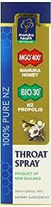 Manuka Health Mund- und Rachenspray MGO 400+, 30 ml Pumpflasche