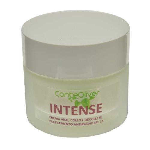INTENSE 30 ml - crema antirughe per la pelle dopo i 50 anni SPF15, con olio di rosa mosqueta