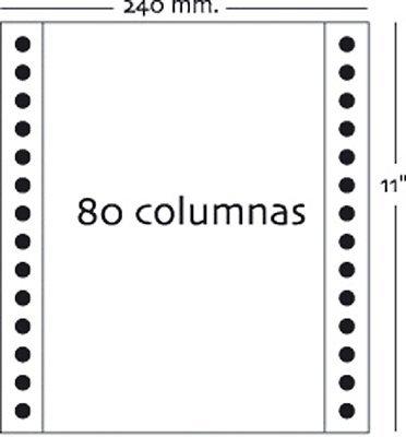 fabrisa-1241032-caja-de-1000-hojas-de-papel-continuo-3-hojas-240-x-11