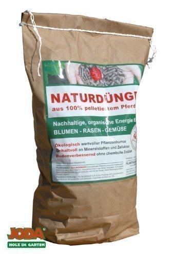 letame cavallo plantaqenz joda fertilizzante naturale 100% (1,20 euro / kg) giardino concime stallatico eco