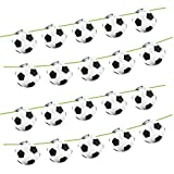 Folat - 'Fußball-Fan' Girlande, Ø 22 cm und Länge 10 Meter