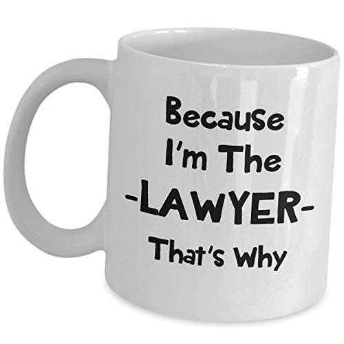 Jesus Mens Tee (Because Im The Lawyer Thats Why - Lawyer Mug Gifts For Men Women - Attorney Gifts Coffee Tea Cup Funny Cute Gag Law Practitioner Atty Advocate Bar Passer School Graduation Gift Social Inspirational)