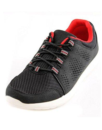Mapleaf - Basket homme lacet Mapleaf 8702 Noir Noir