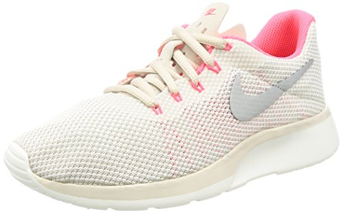 Nike Damen Wmns Tanjun Racer Joggingschuhe, Beige (Lt Orewood BRN/Chrome-Sail-Solar Red), 39 EU