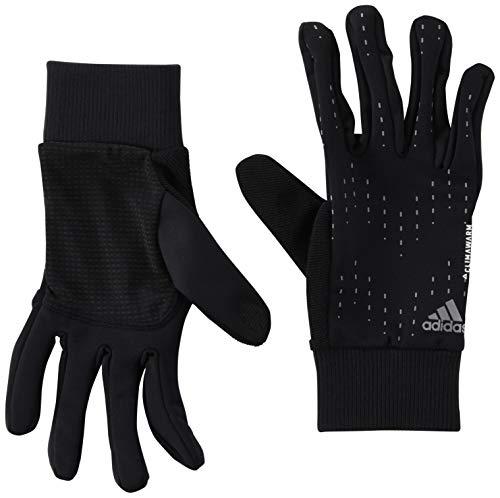 adidas Run Gloves, Guanti Sportivi Unisex - Adulto, Black/Silver Met, XL