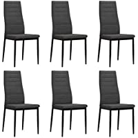 Amazon.it: sedie moderne - Tela / Sala da pranzo / Arredamento: Casa ...