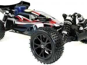 VRX Buggy Spirit N2 1/10 off Road con Motore a Scoppio Go.18 a 2 Marce Radio 2.4GHz 4WD RTR RH1007