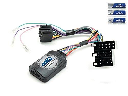 NIQ CAN-BUS Lenkradfernbedienungsadapter geeignet für PIONEER Autoradios, kompatibel mit Mercedes C Klasse (W203)
