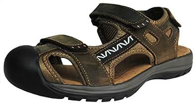 Garcons sandales taille 43.5 Marron fonce hommes Chaussures marche de camping