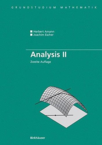Analysis II (Grundstudium Mathematik)