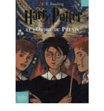 (Harry Potter Et L'Ordre Du Phenix) By Rowling, J. K. (Author) Paperback on (09 , 2011)
