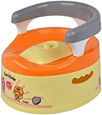 Deliababy Baby Closestool (Yellow/Orange)