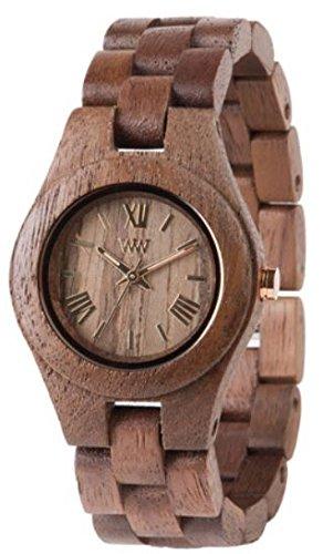 Criss WeWood - orologio in legno - dado a farfalla