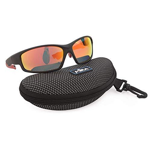 Mira - Breeze R - Polarisierte Sportbrille - UV400 Sonnenbrille - Unisex für Damen und Herren - Robust, langlebig, leicht und kratzfest
