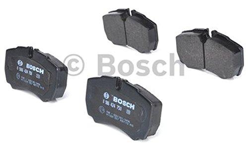 Bosch 09864247504x pastiglie freno posteriore