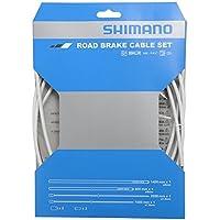 SHIMANO 80098012 Cable, Blanco, Talla Única