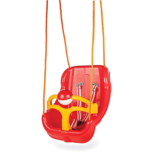 Pilsan Babyschaukel 2 in 1 Big Swing 06130, hohe Rückenlehne, abnehmbarem Bügel rot