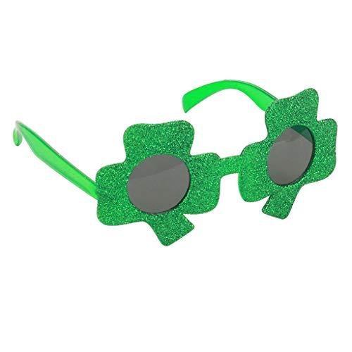 Fenteer Party Favors Lustige Sonnenbrill Partybrille SpaßbrilleLustige Augen Brille Gläser Kostüme Foto Requisiten - Klee