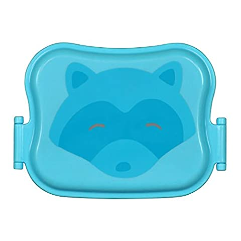 green sprouts Bento Box (12 to 48 Months, Aqua)