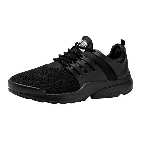 Dasongff Herrren Sneaker Weiß,Atmungsaktiv Männer Laufschuhe Turnschuhe,Shock Absorbing Fitnessschuhe,Mesh Sport Schuhe