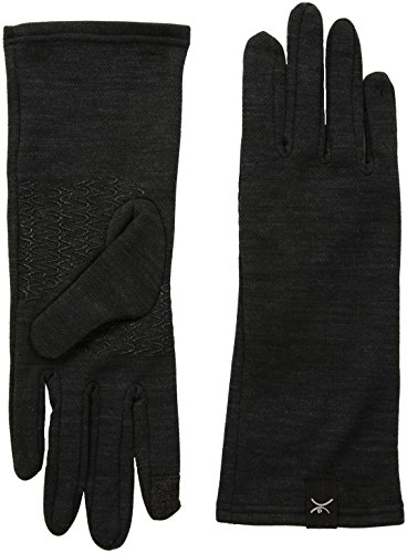Terramar thermawool Merino Wolle Handschuh rutschsicher, unisex, schwarz Midweight Glove Liner