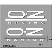 PEGATINAS OZ RACING R127 VINILO ADESIVI DECAL AUFKLEBER КЛЕЙ STICKERS CAR VOITURE SPORT RACING (BLANCO/WHITE)